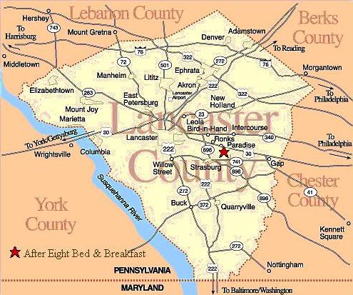 Similiar Pennsylvania Dutch Country Map Keywords